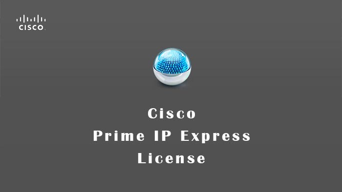 Cisco Prime IP Express License