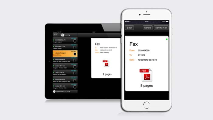 A fax machine in your pocket