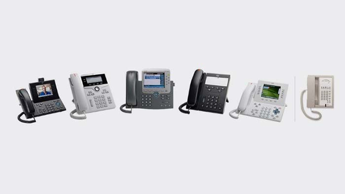 Choose your Cisco solution, choose your phones.