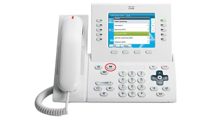 Cisco Phone Interface
