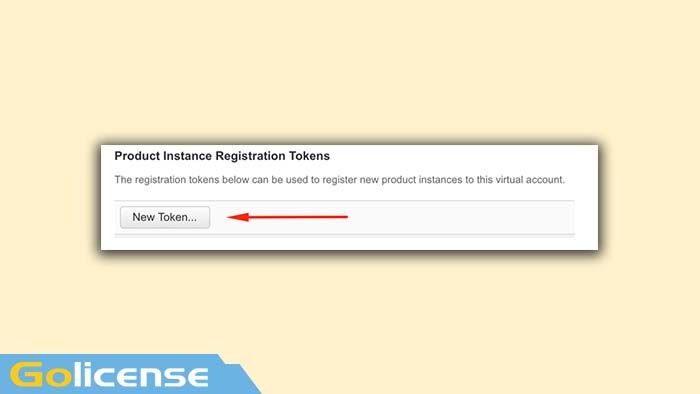 Product Instance Registraton Tokens