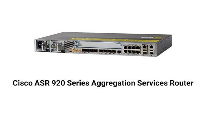 Cisco ASR 920 Series Aggregation Services Router