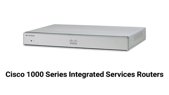 Cisco 1000 Series Integrated Services Routers (ISR 1000)