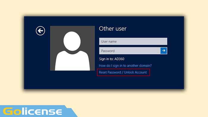 Features of self-service password management