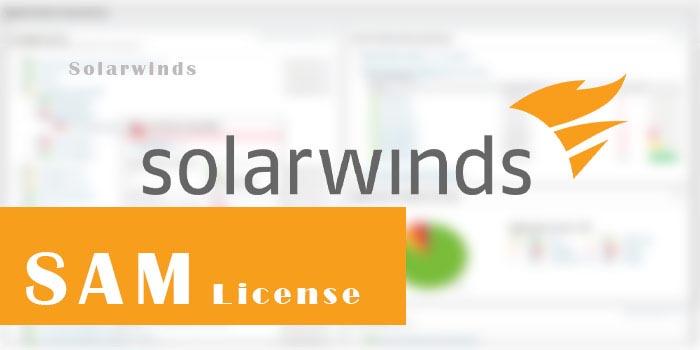 SolarWinds SAM License