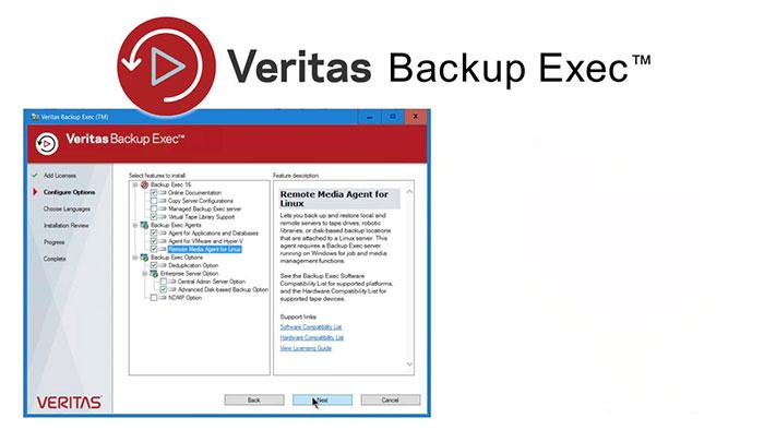 Veritas Backup ExecLicense