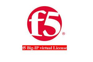 f5 Big-IP virtual License