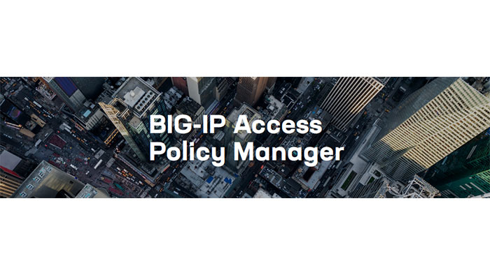 BIG-IP Access Policy Manager (APM) License
