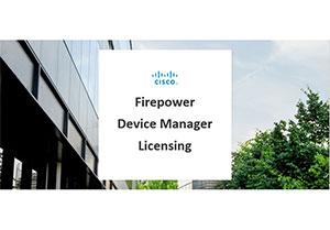 Activating PLR License on Cisco FDM